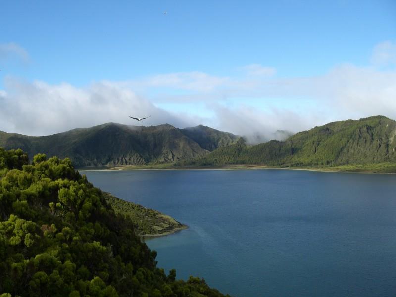 Lagoa da Fogo Azoren