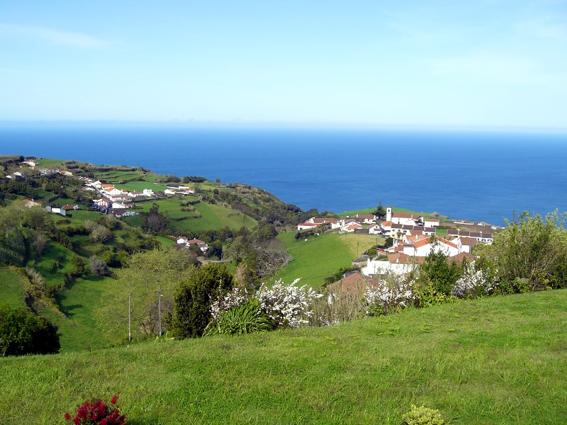 Stunning views over the Azores